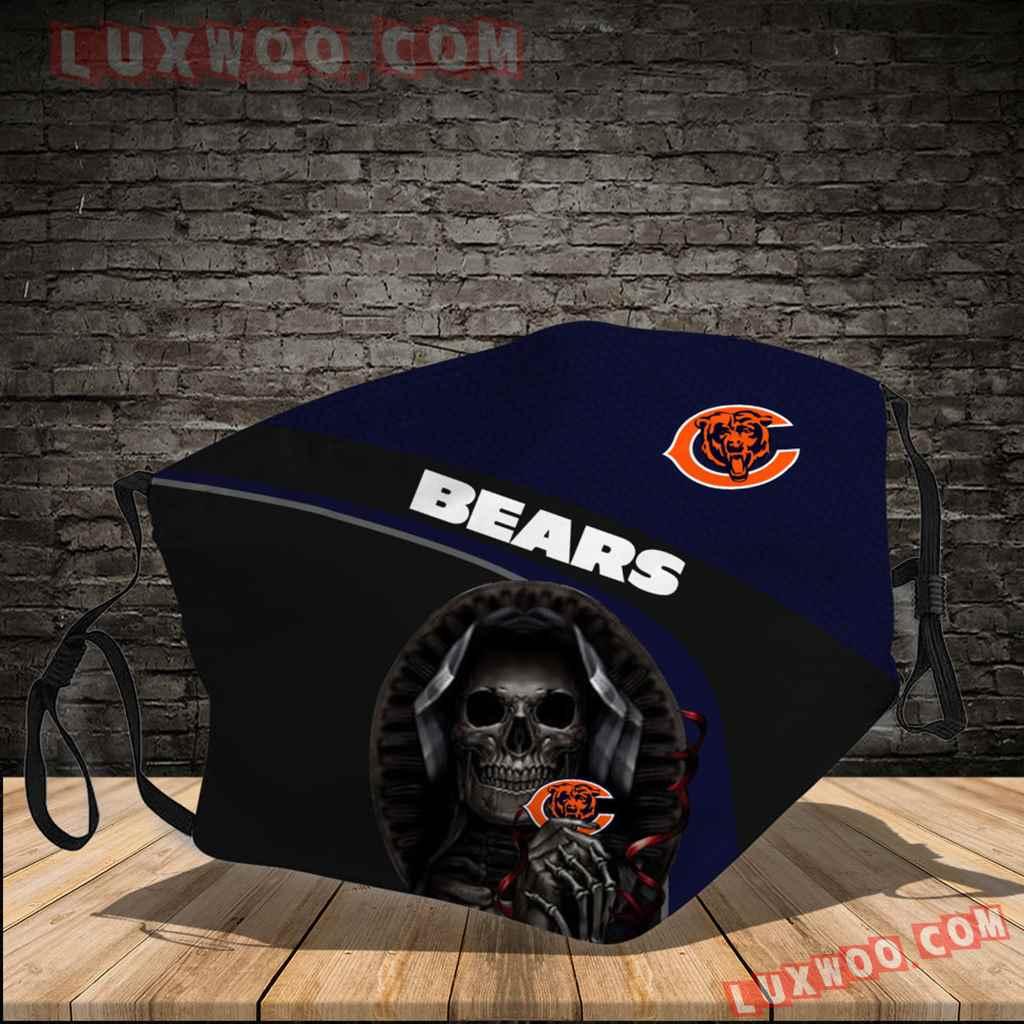 Chicago Bears 3d Face Mask V7