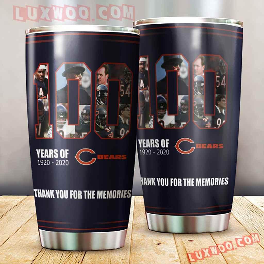 Chicago Bears Nfl 3d Tumbler V3
