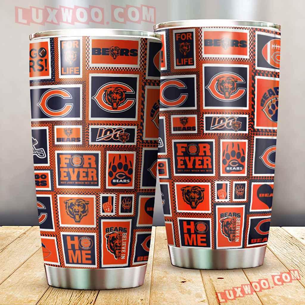 Chicago Bears Nfl 3d Tumbler V4