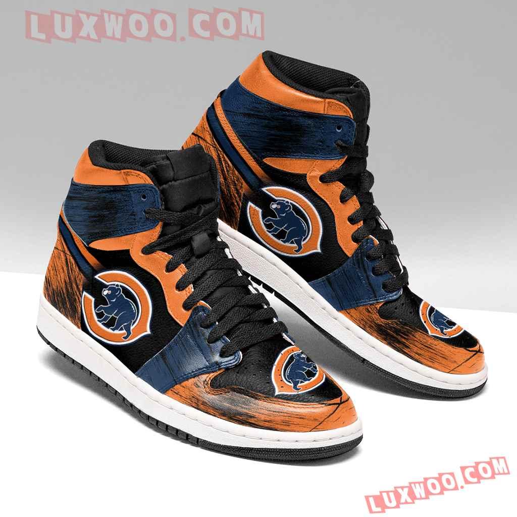 Chicago Bears Nfl Air Jordan 1 Custom Shoes Sneaker V1