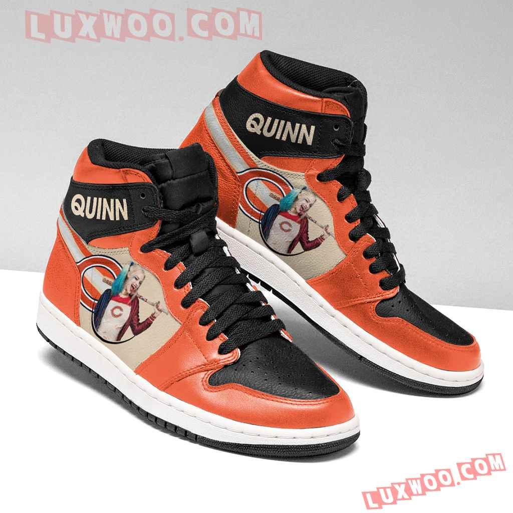 Chicago Bears Nfl Air Jordan 1 Custom Shoes Sneaker V2