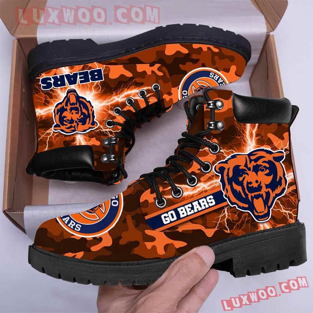 Chicago Bears Nfl Season Boots Shoes V2