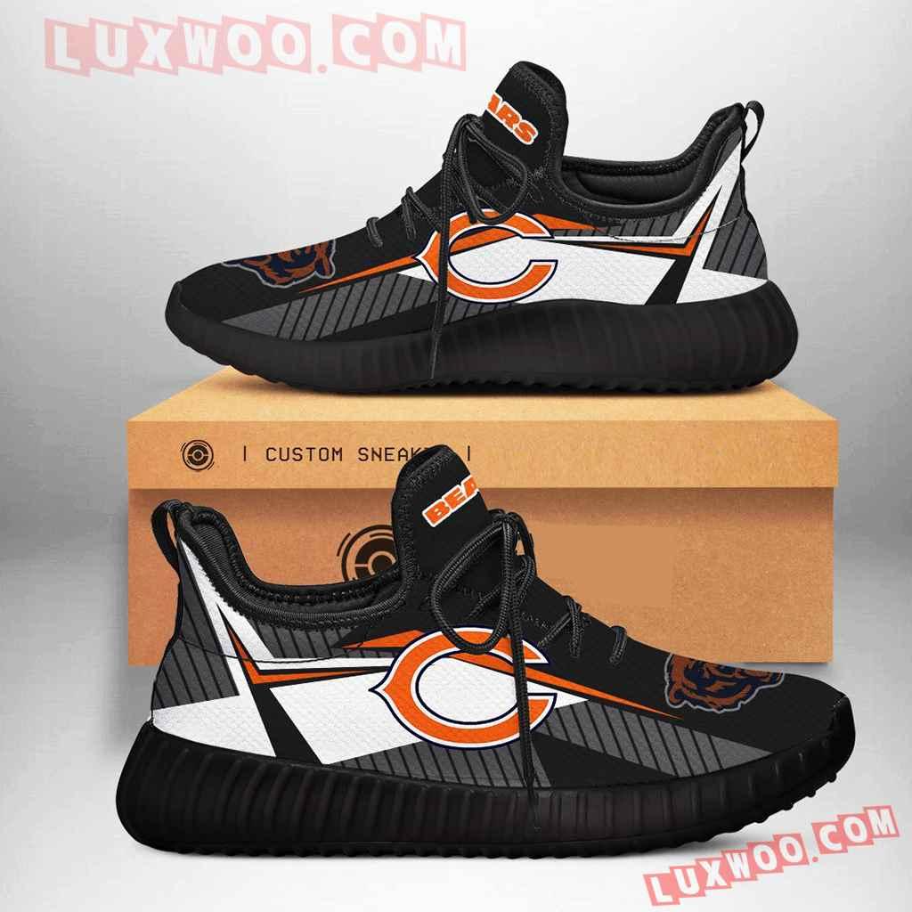 Chicago Bears Nfl Yezzy Custom Shoes Sneaker V2