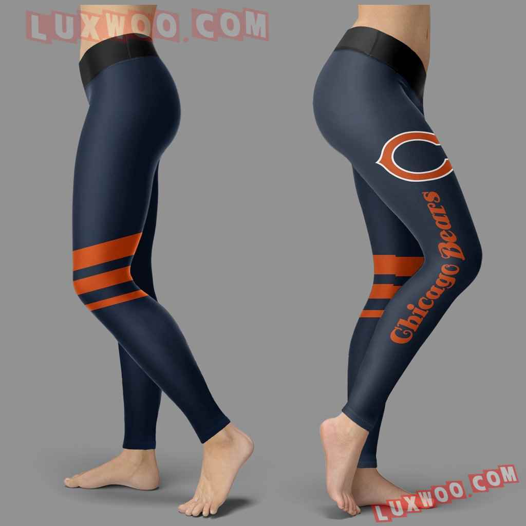 Nfl Chicago Bears Leggings Custom All Over Print 3d Leggings V3