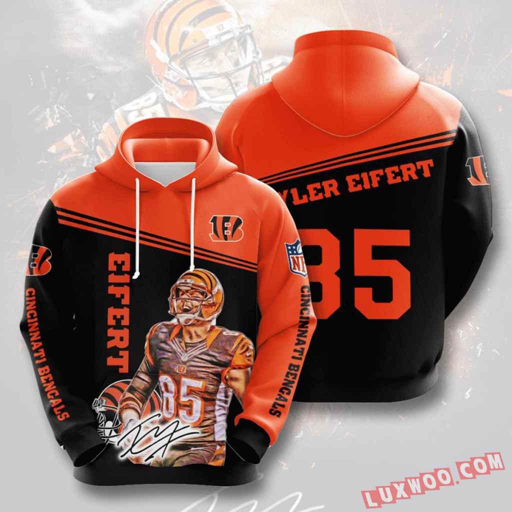 Nfl Cincinnati Bengals 3d Hoodie V11