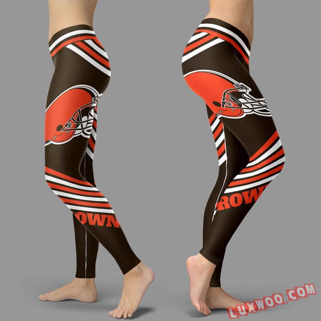 Nfl Cleveland Browns Leggings V3