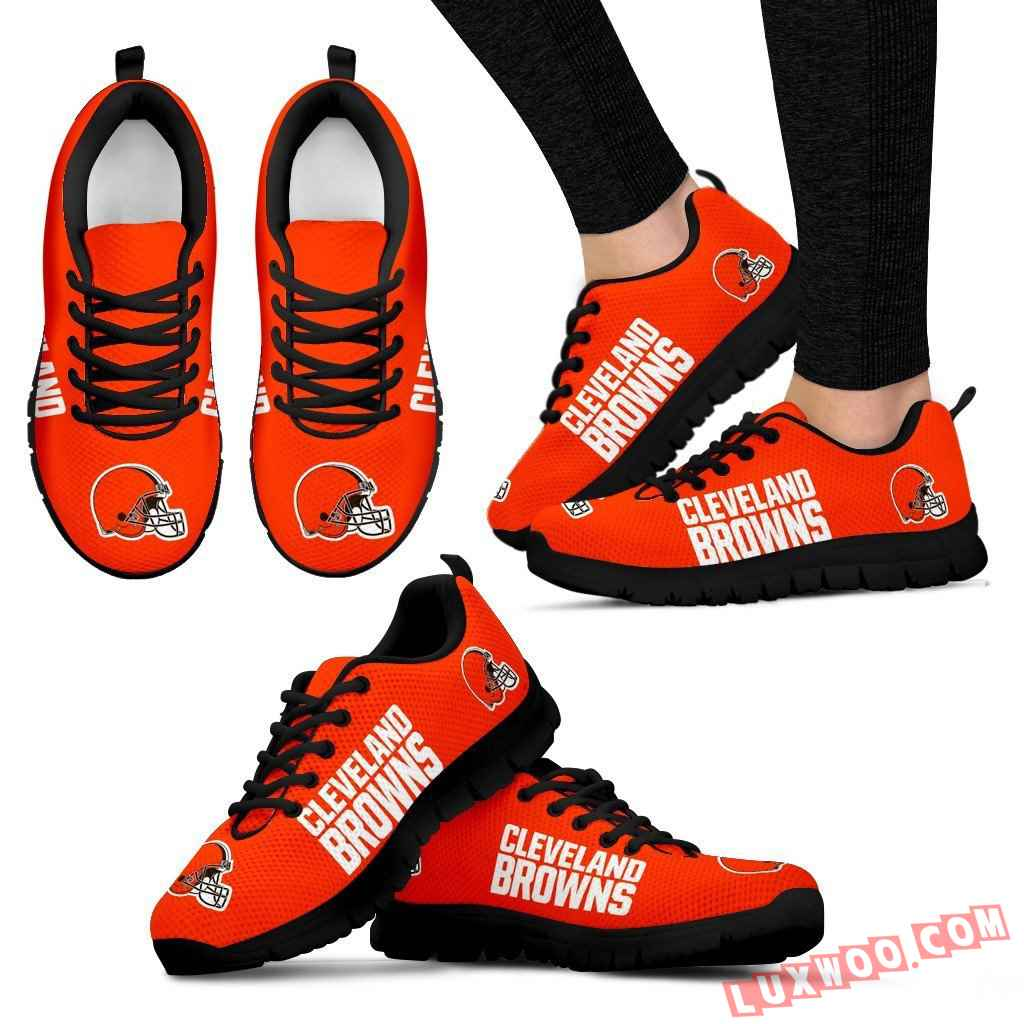 Nfl Cleveland Browns Running Shoes V1