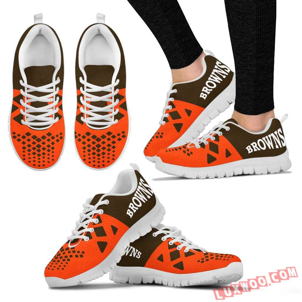 Nfl Cleveland Browns Running Shoes V2