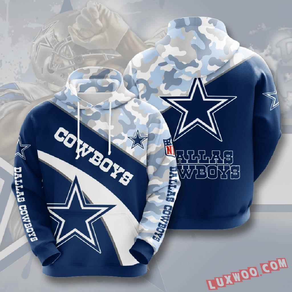 Nfl Dallas Cowboys 3d Hoodie V18