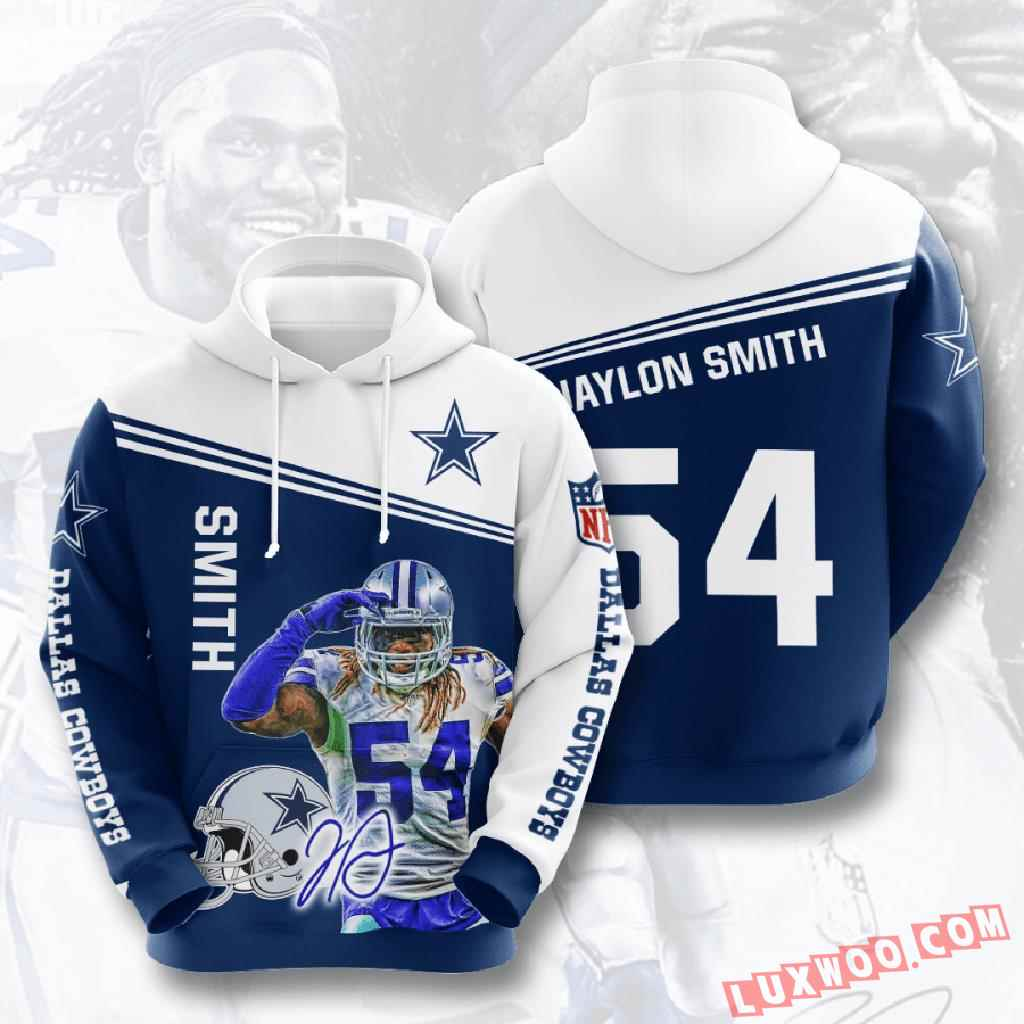 Nfl Dallas Cowboys 3d Hoodie V19