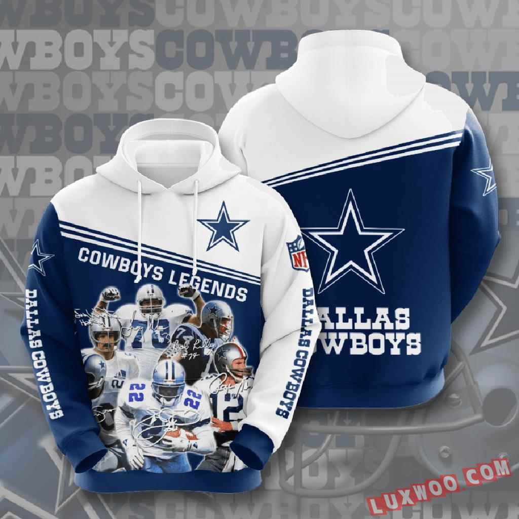 Nfl Dallas Cowboys 3d Hoodie V20