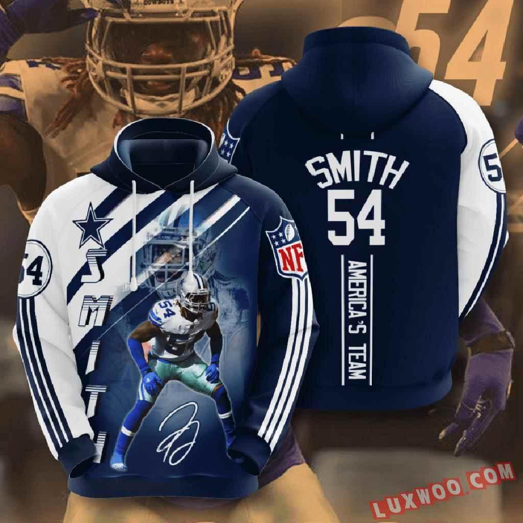 Nfl Dallas Cowboys 3d Hoodie V21