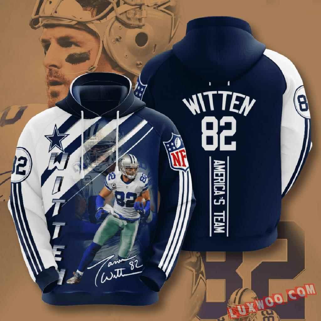 Nfl Dallas Cowboys 3d Hoodie V22