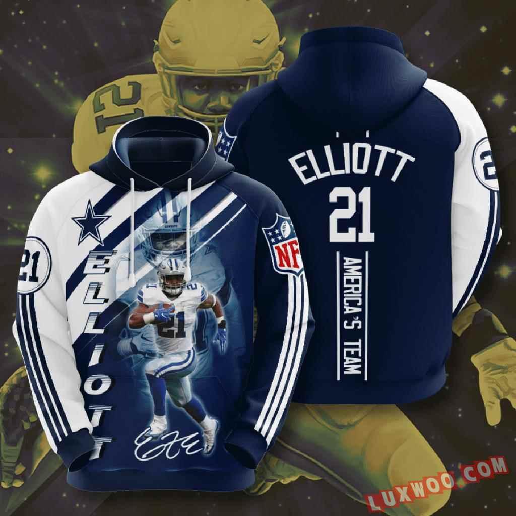 Nfl Dallas Cowboys 3d Hoodie V23