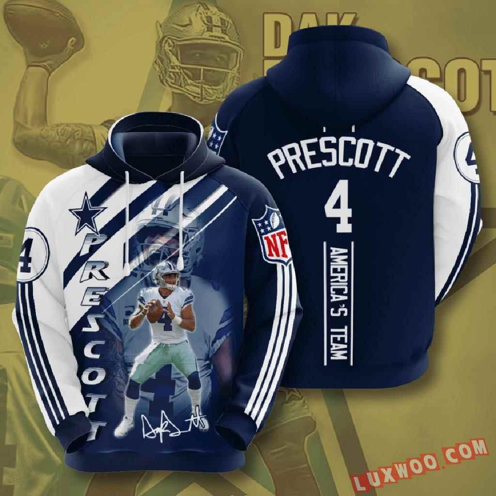 Nfl Dallas Cowboys 3d Hoodie V24