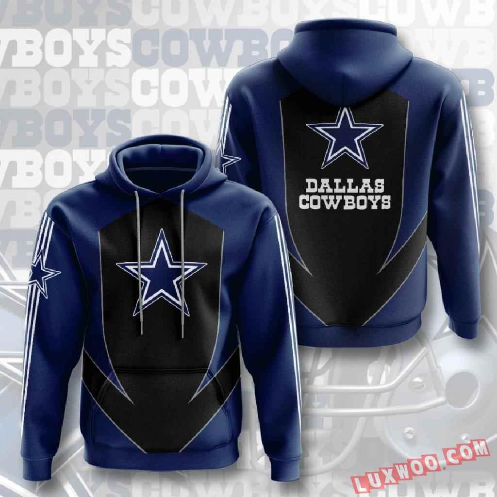 Nfl Dallas Cowboys 3d Hoodie V3