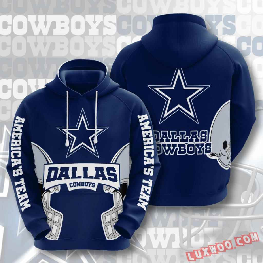 Nfl Dallas Cowboys 3d Hoodie V5