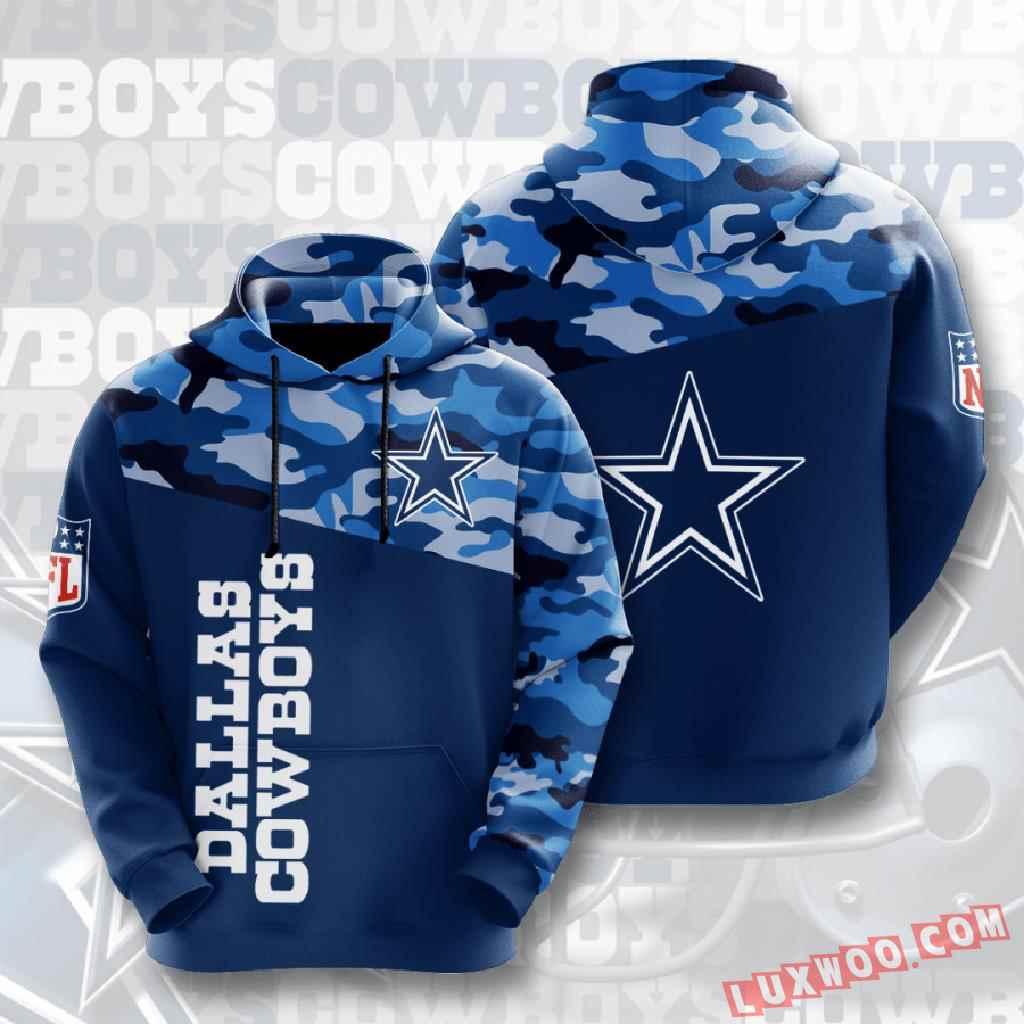 Nfl Dallas Cowboys 3d Hoodie V6