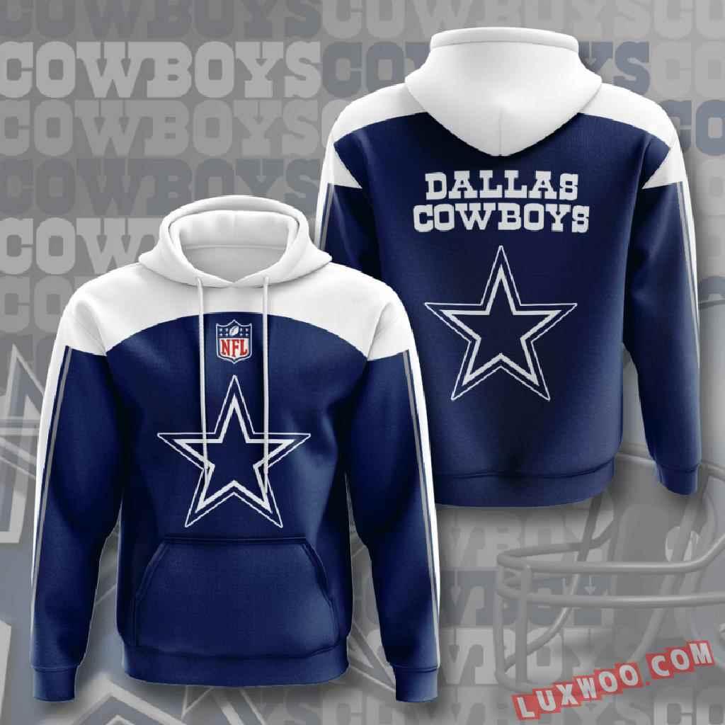 Nfl Dallas Cowboys 3d Hoodie V7