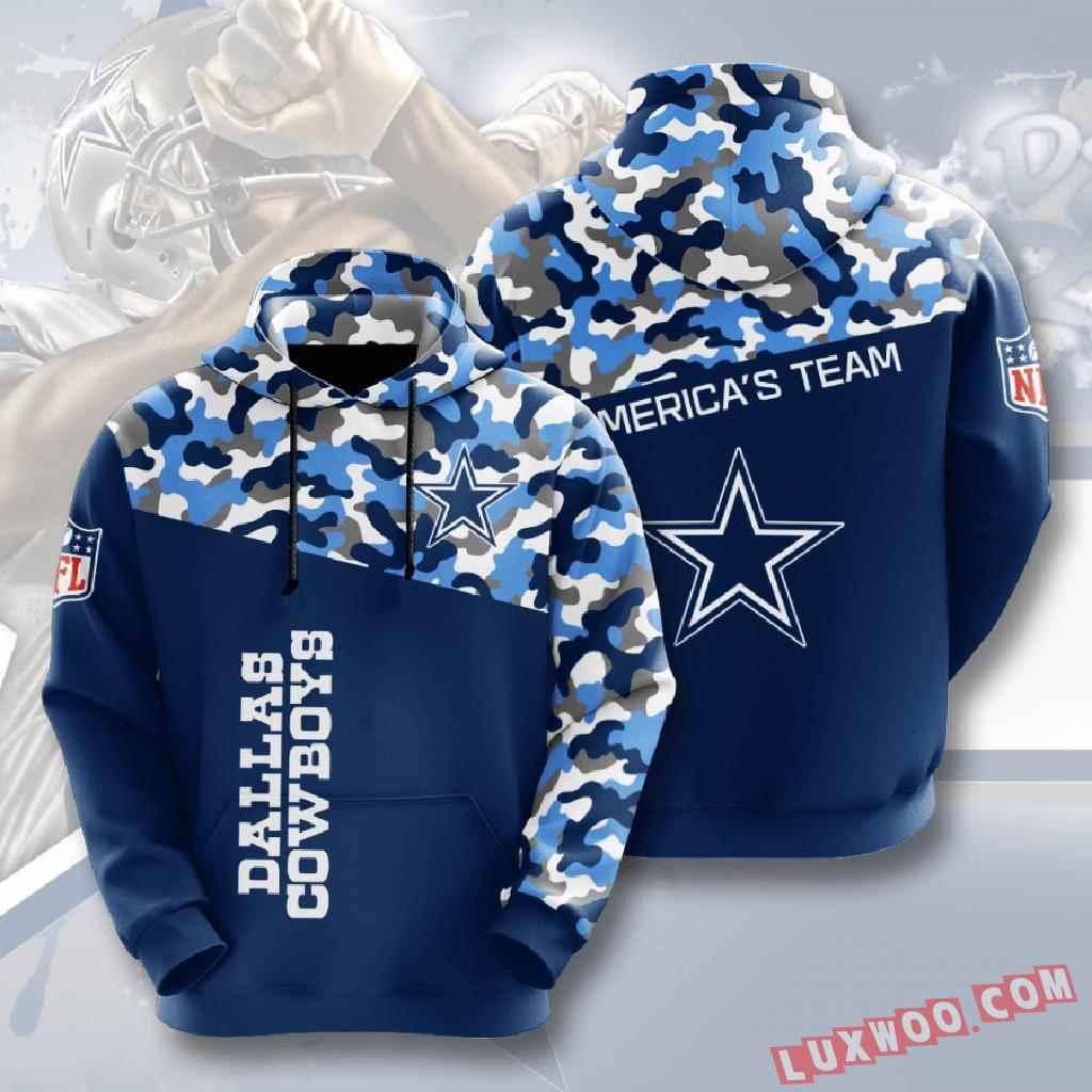 Nfl Dallas Cowboys 3d Hoodie V8