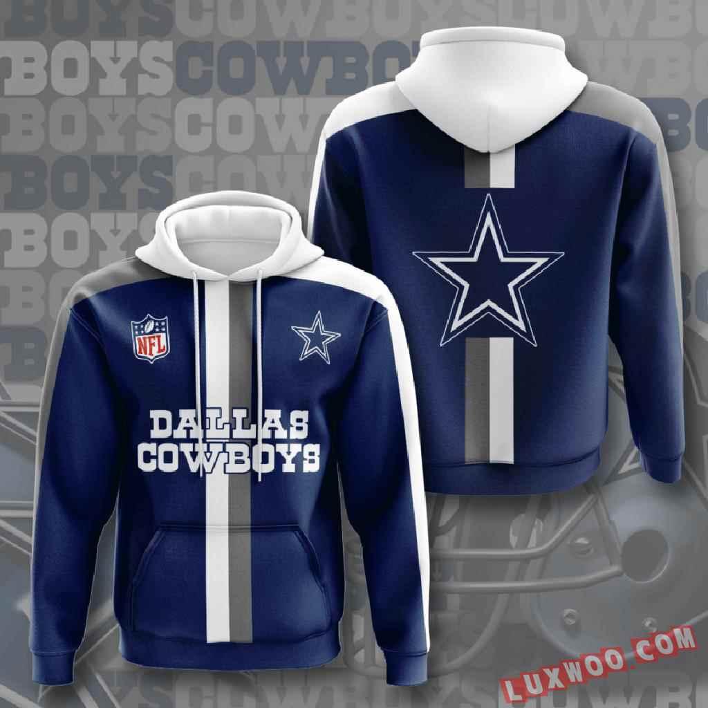 Nfl Dallas Cowboys 3d Hoodie V9