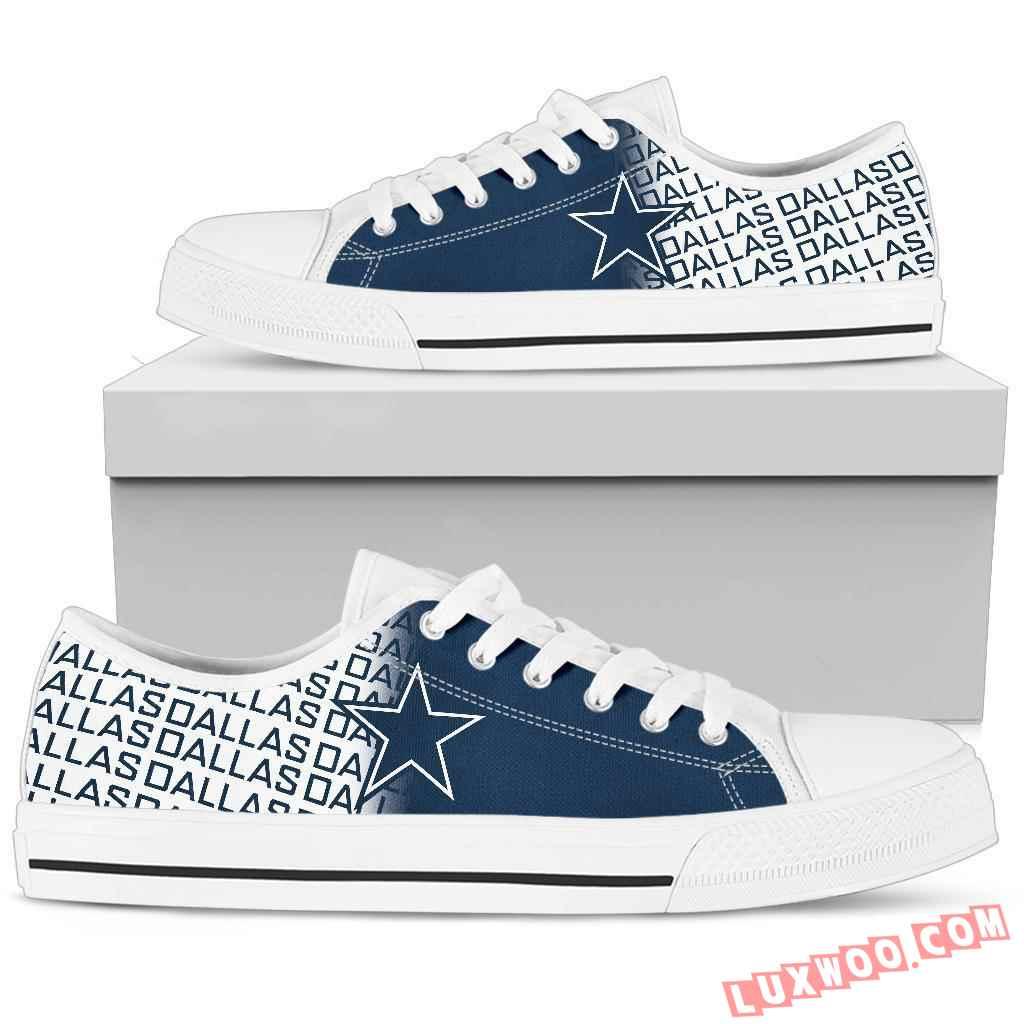 Nfl Dallas Cowboys Low Top Shoes