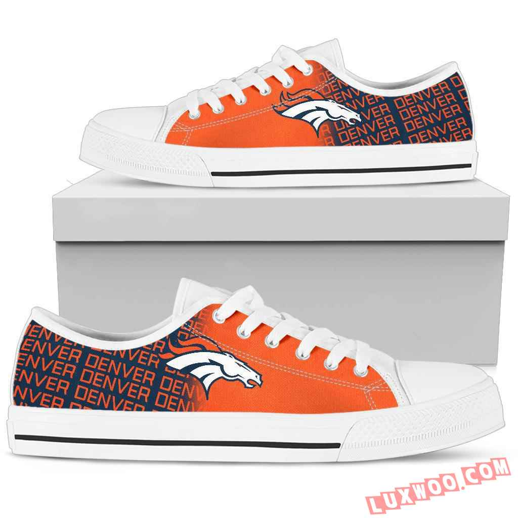 Nfl Denver Broncos Low Top Shoes