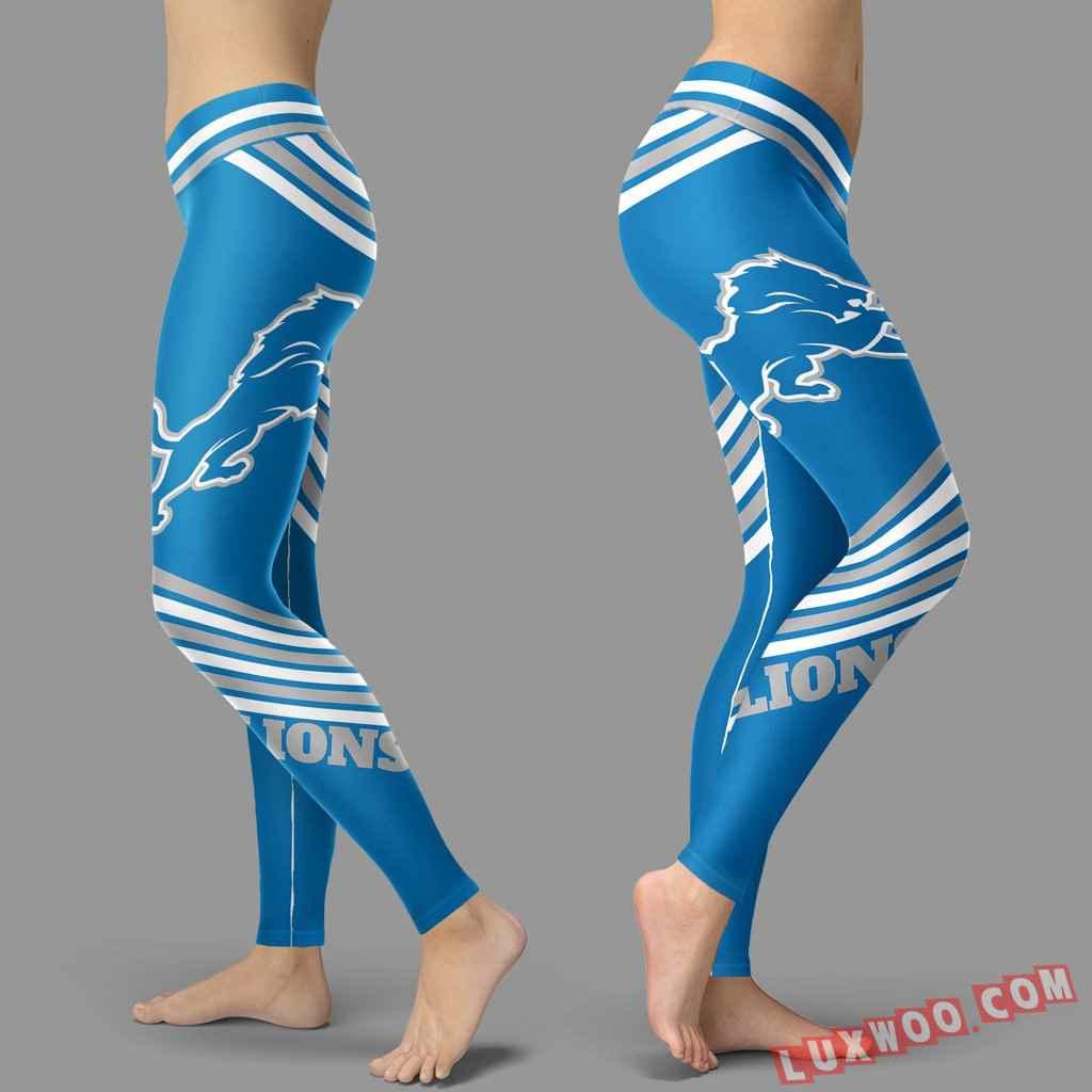 Nfl Detroit Lions Leggings V2