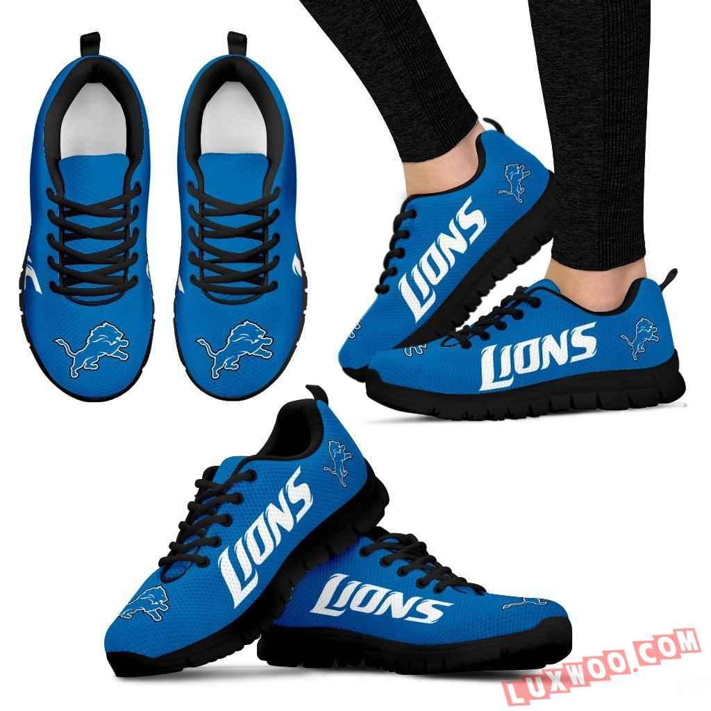 Nfl Detroit Lions Running Shoes V1