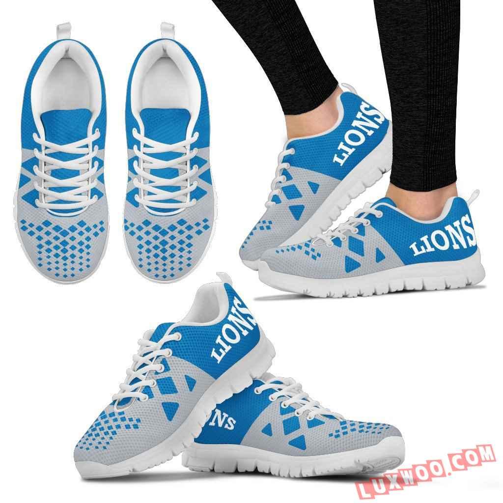 Nfl Detroit Lions Running Shoes V2