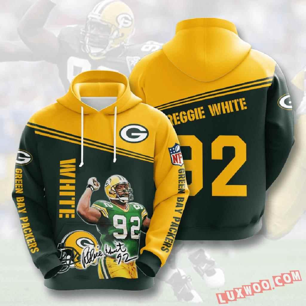 Nfl Green Bay Packers 3d Hoodie V10