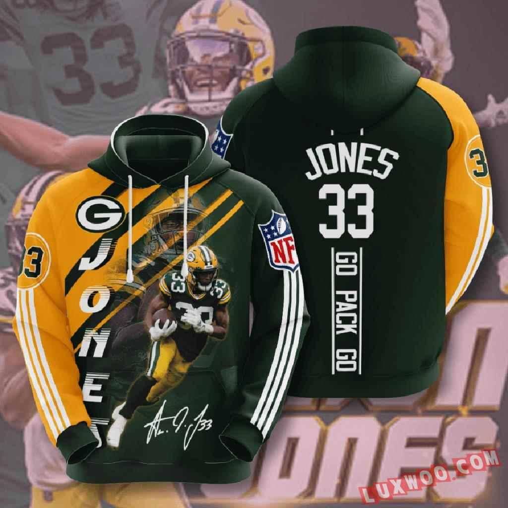 Nfl Green Bay Packers 3d Hoodie V15