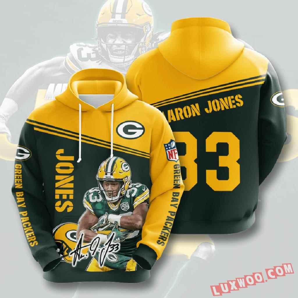 Nfl Green Bay Packers 3d Hoodie V6