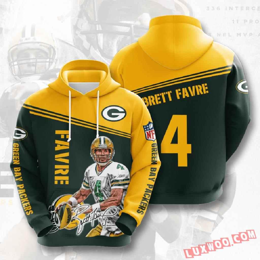 Nfl Green Bay Packers 3d Hoodie V8