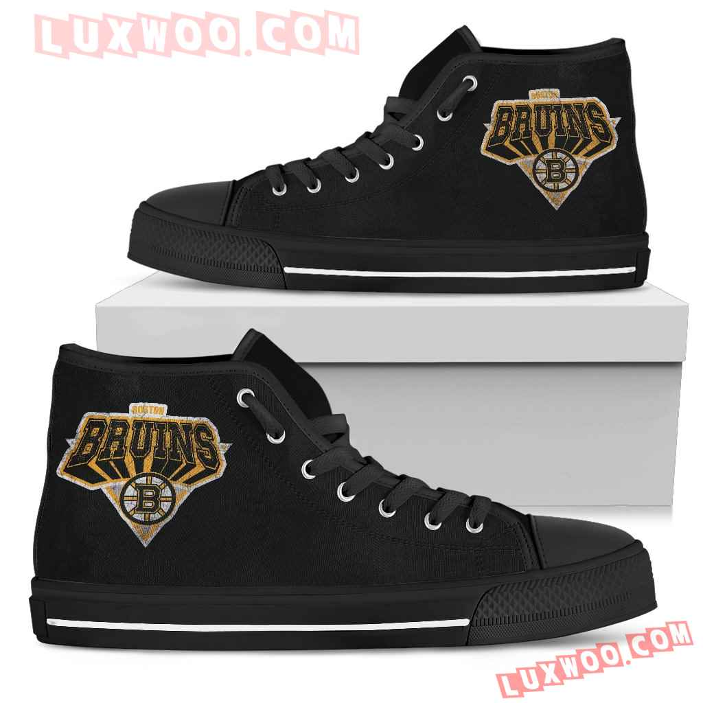 Boston Bruins High Top Shoes