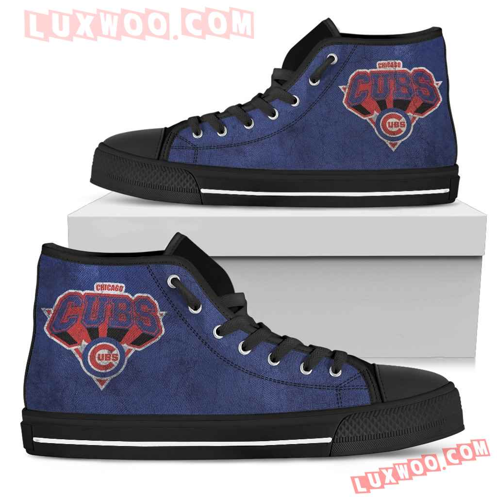 Chicago Cubs High Top Shoes