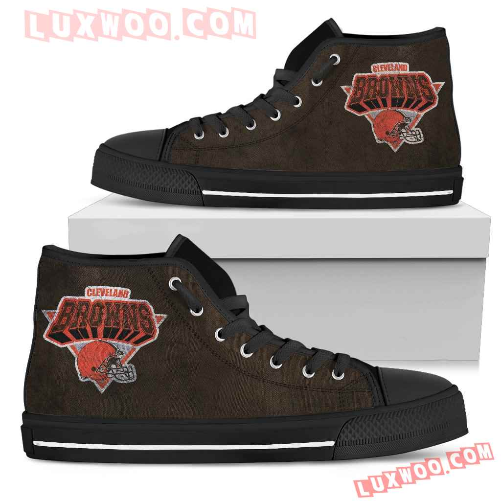 Cleveland Browns High Top Shoes