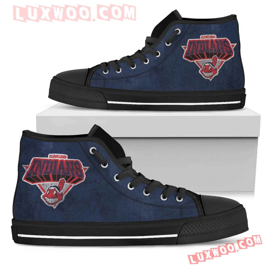Cleveland Indians High Top Shoes