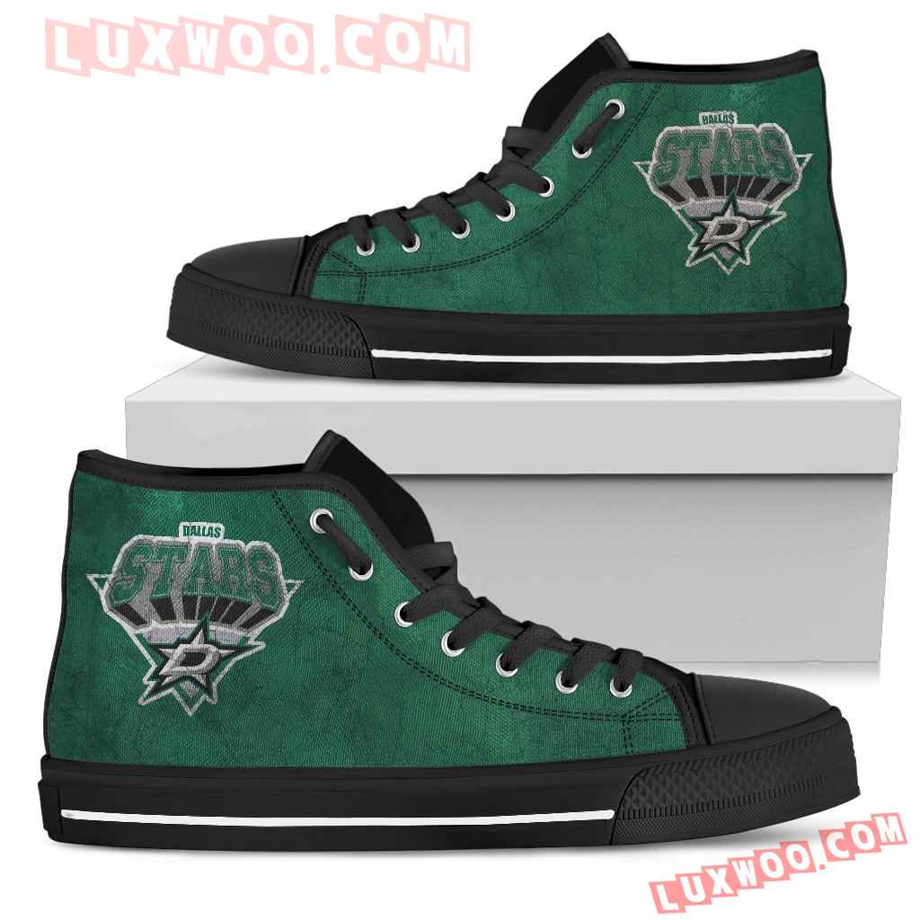 Dallas Stars High Top Shoes
