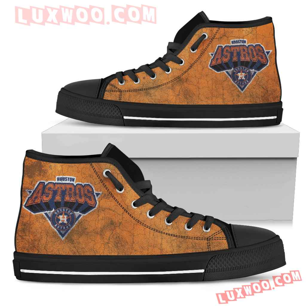 Houston Astros High Top Shoes