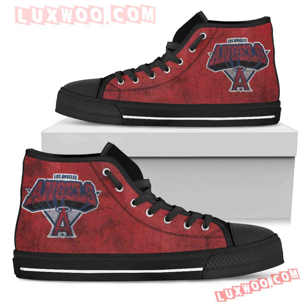 Los Angeles Angels High Top Shoes