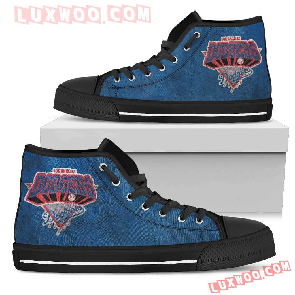 Los Angeles Dodgers High Top Shoes