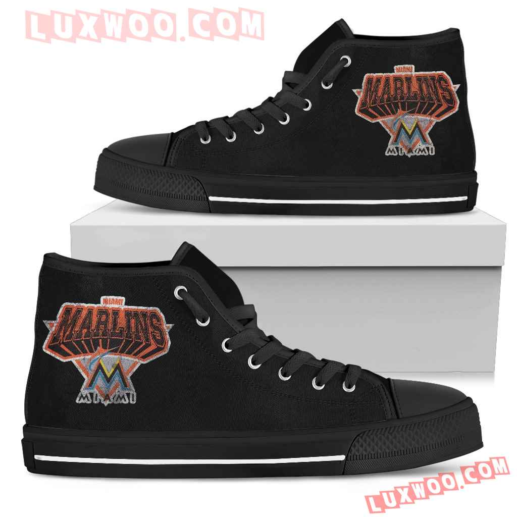 Miami Marlins High Top Shoes
