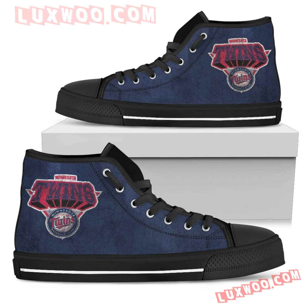 Minnesota Twins High Top Shoes