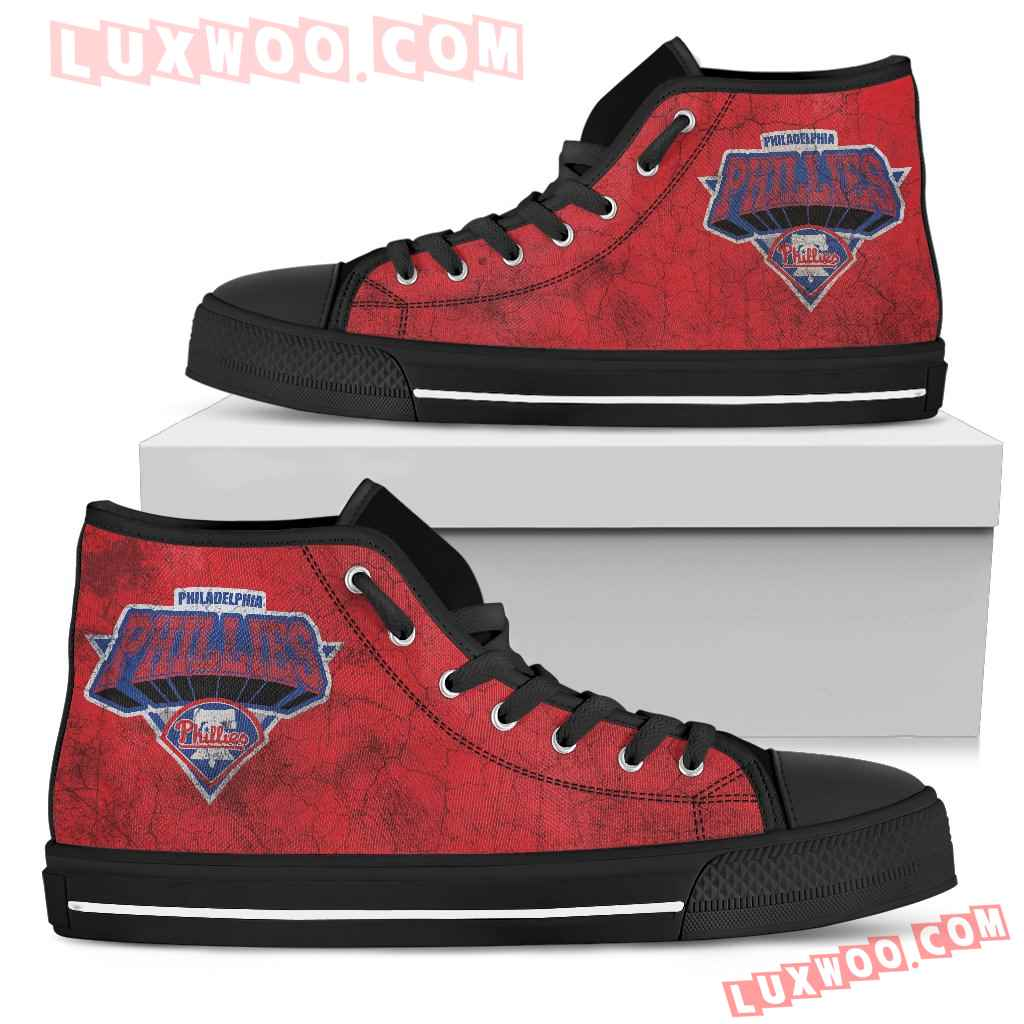 Philadelphia Phillies High Top Shoes