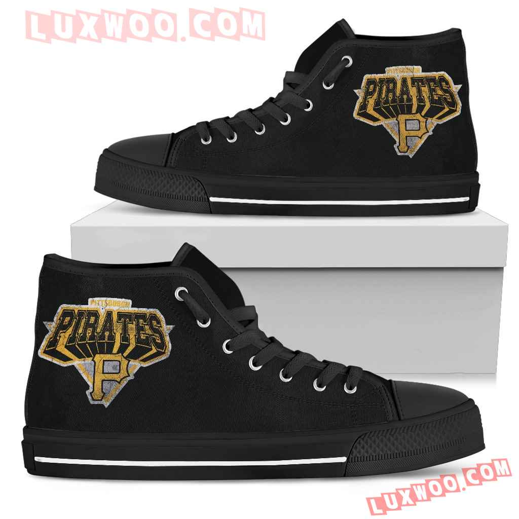 Pittsburgh Pirates High Top Shoes