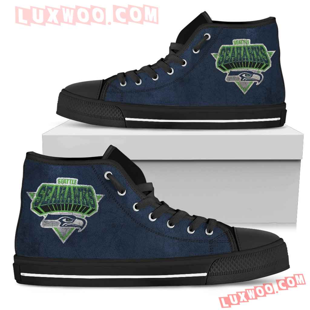Seattle Seahawks High Top Shoes