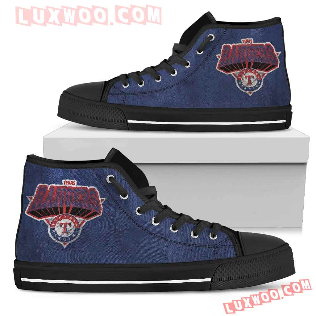 Texas Rangers High Top Shoes