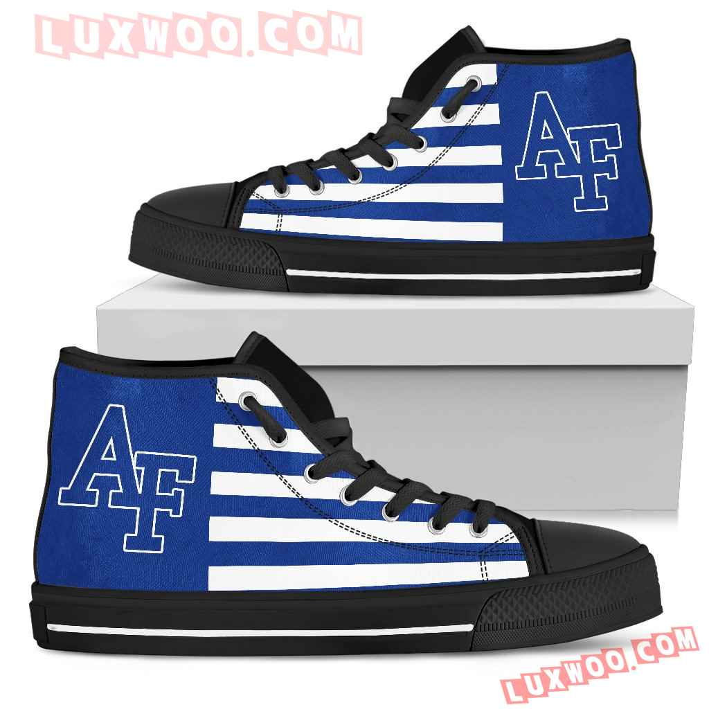 American Flag Air Force Falcons High Top Shoes