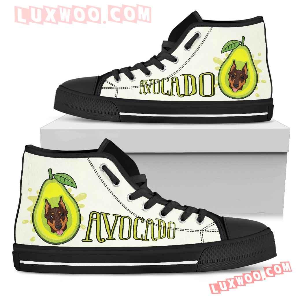 Avocado Doberman High Top Shoes